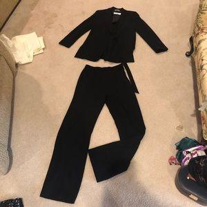 Black Max Mara pantsuit